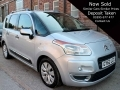 2012 Citroen C3 Picasso Automatic Petrol 1.6 VTI EX Silver 5 Door Air Con Park Sensors 52,000 miles 1 Previous Owner GY62LCX