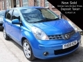 2008 Nissan Note Tenka Auto 5 Door 16v Blue 85K Full History 1.6 Petrol 2 Owners YH08KZM *Out of Stock*