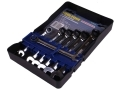 7Pc Trade Quality Ratchet Chrome Vanadium 72 Teeth Combination Spanner Set 8 - 17mm SP032