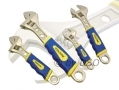 4Pc Adjustable Spanner Wrench Set with Soft TRP GRP SP055 *Out of Stock*