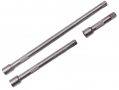 "Trade Quality 3Pc 3/8"" Chrome Vanadium Extension Bar Set with Spring Loaded Ball Bearing SS026"