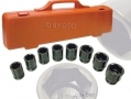 "Trade Quality 8 Pc 3/4"" Drive Impact Socket Set SS129 *Out of Stock*"
