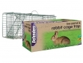 Defenders Trap Alive Rabbit Cage Trap Collapsible Humane Capture STV071 *Out of Stock*
