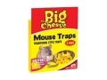 THE BIG CHEESE Professional Strength Baited Ready To Use Traditional style Mouse Trap - Twin Pack STV100 *Out of Stock*