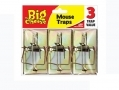 THE BIG CHEESE Professional Strength Traditional style Metal Mouse Trap - Pack Of 3 STV105 *Out of Stock*