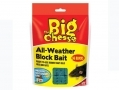 THE BIG CHEESE All-Weather Rat and Mouse Killer Rodenticide 36 Refill Blocks STV121 *Out of Stock*