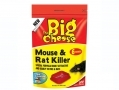 THE BIG CHEESE Mouse and Rat Killer For Home and Garden 6 Sachets STV122 *Out of Stock*