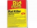 THE BIG CHEESE Rat Killer Cut Wheat Bait Rodenticide Sachet 100g STV124NP *Out of Stock*