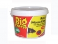 THE BIG CHEESE Rat and Mouse Killer Bait Rodenticide 1kg bucket  STV125 *Out of Stock*