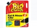 THE BIG CHEESE Rat and Mouse Killer Bait Rodenticide 2.5kg With Easybait Spout STV127 *Out of Stock*