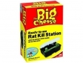 THE BIG CHEESE ReadyTo Use Rat Kill Station Indoor and Outdoor Use  STV132