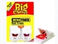 THE BIG CHEESE Ultra Power Rat Traps - Twin Pack STV149 *Out of Stock*
