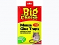 THE BIG CHEESE Mouse Glue Traps Super Strong Pack of Two STV182 *Out of Stock*