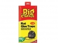 THE BIG CHEESE Rat And Mice Glue Traps Super Strong Pack of 2 STV183 *Out of Stock*