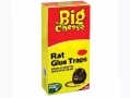 THE BIG CHEESE Rat And Mice Glue Traps Super Strong 1 Sheet STV191