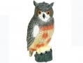 DEFENDERS Lifelike Owl Bird Scarer Pest Deterrant / Garden Ornament  STV963 *Out of Stock*