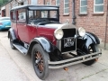 1928 Hudson Essex Super Six Right Hand Drive Totally Original Burgundy Black SV4078