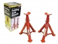 2 Ton Adjustable and Folding Axle Stands CE, TUV and GS Approved SW2TFAS *Out of Stock*