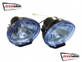 "Streetwize 12V 3.5"" x 2.5\"" Ice Blue Halogen Lamps SWDL3"