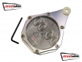 Streetwise Motorcycle Bike Tax Disc / Parking Permit Holder Waterproof Silver SWMCA9