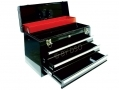 Trade Quality Black 20 Inch 3 Drawer Top Box Toolbox with Lock and 2 Keys Few Small Dents TB055-RTN1 (DO NOT LIST) *Out of Stock*