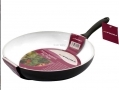 Prima 26cm Non stick Frying Pan Ceramic Coating White with Soft Touch Handle 15148C