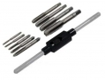 10 Pc Tap and Wrench Set M3 to M12 TP110 *Out of Stock*