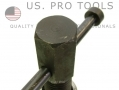 US PRO Left Hand Brake Caliper Rewind Tool  with Backing Plate US6164