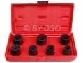 "US PRO TOOLS 1/2"" DR Twist Socket Alloy Wheel Nut Lock Removing Set 17mm to 26mm - Missing 18.5mm socket US1322-RTN1 (DO NOT LIST) *Out of Stock*"