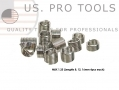 US PRO Professional Trade Quality 84 Piece Helicoil Repair Insert M5 - M14 US2527
