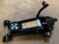 US PRO 3 Ton Trade Quality Trolley Jack with Fast Lift Pedal  USPROJACKBLACK
