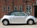 2010 VW Beetle Diesel Convertible 1.9 Tdi Silver AC 47,264 miles One Owner Full VW Service History VE10EDL