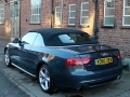 2010 AUDI A5 Cabriolet 2.0T FSI S Line Black Leather Manual Grey 51,000 miles FASH VO60UBX *Out of Stock*