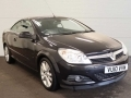 2010 Vauxhall Astra Convertible 1.8i 16v Design Twin Top Black Air Con Alloys Half Leather 55,000 miles FSH VU10VVW