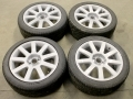 9 Spoke Alloy Wheels with 225/45/R18 Tyres Set of 4 WH22545R17