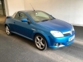2007 Vauxhall Tigra Convertible 1.4 Exclusive Electric Blue Black Leather Air Con 1 Owner 59,000 WP07LPX