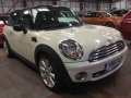2010 Mini Cooper 1.6 Hatchback Manual Petrol White Black Roof Half Leather 59,000 miles YB10XLP