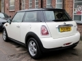 2011 Mini Cooper 1.6 3 Door Hatchback Manual Petrol White Alloys AC 1 Previous Owner 61,000 miles YC11MVH