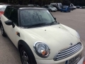 2011 Mini Cooper Convertible 1.6 3 Door Hatchback Manual Petrol White Alloys AC 1 Previous Owner 61,000 miles YC11MVH