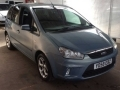 2008 Ford C-Max Automatic Petrol 2.0 Zetec 5 Doors Blue Parking Sensors Air Con Alloys 70,000 miles YD58EBZ