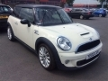 2011 Mini 1.6 Cooper S Petrol Manual White Half Leather Seats NAV Xeon and Adaptive Headlights AC Alloys  FSH 47,000 miles YE60CGK