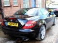 2010 Mercedes SLK 200 Auto Tip Roadster Black with Black Leather Air Scarfs High Spec 41,500 miles YS10KRF