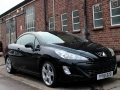 2010 Peugeot 308 CC 1.6 THP GT Convertible Manual Petrol Black Deep Red Leather 53,000 FSH EX10LXK