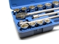 "Trade Quality 21 Piece 3/4"" inch Metric Ratchet and Socket Set 6 Point Single Hex SS116 *Out of Stock*"