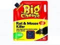 THE BIG CHEESE Rat & Mouse Killer Bait Rodenticide 5kg STV129 *Out of Stock*