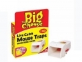 THE BIG CHEESE Live Catch Pre Baited Ready To Use Mouse Trap Humane Control Twin Pack STV155 *Out of Stock*